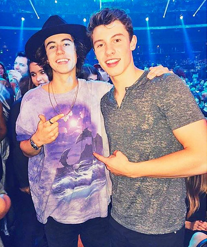 Nash and Shawn.