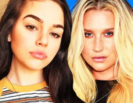 Maggie Lindemann and Kesha.