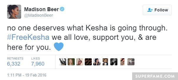 madison-beer-support-kesha