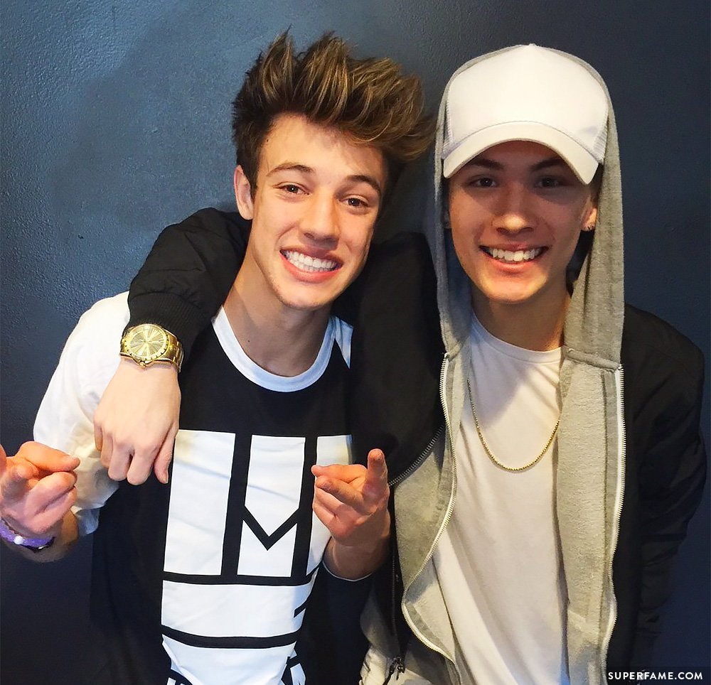 Carter and Cameron.