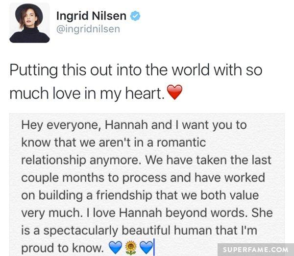 ingrid-breakup-statement
