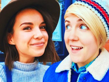 Ingrid Nilsen and Hannah Hart.