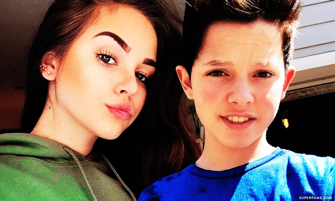 Jacob Sartorius and Maggie Lindemann.