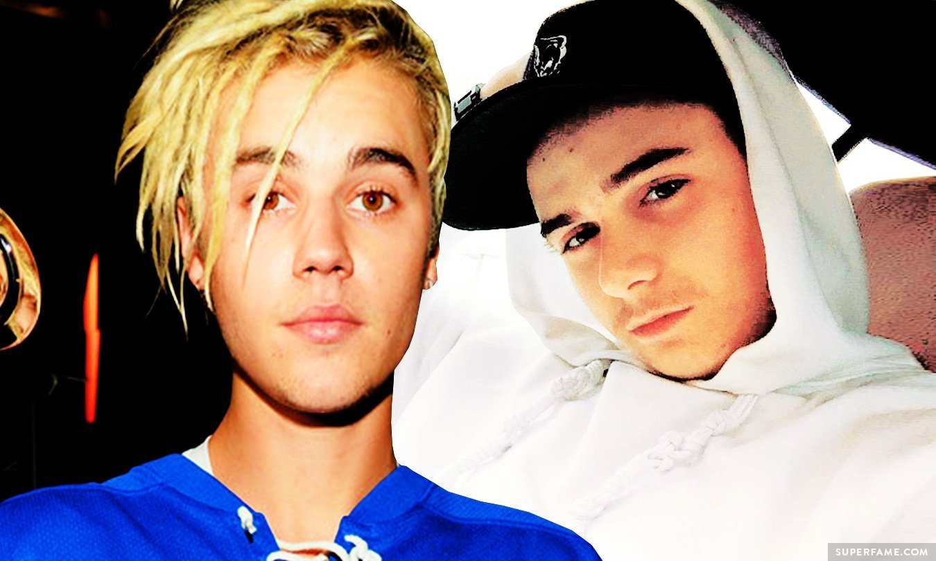 Christian Beadles and Justin Bieber.