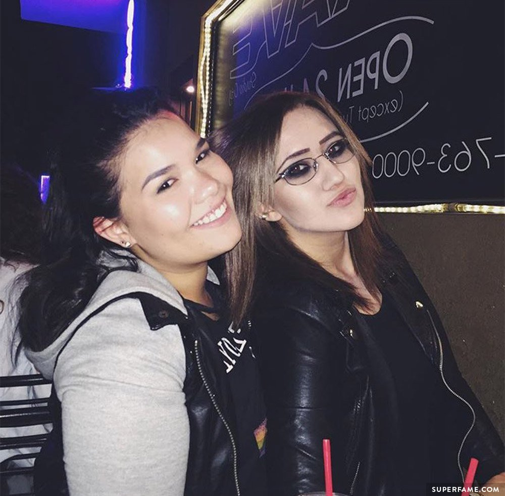 Madison De La Garza and Sarah.