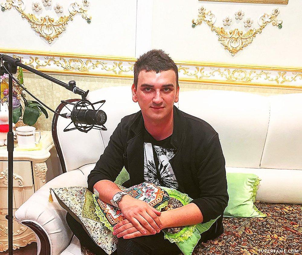 Maxim Burmatov.