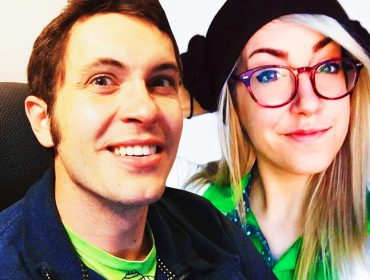 April Fletcher and Toby Turner.