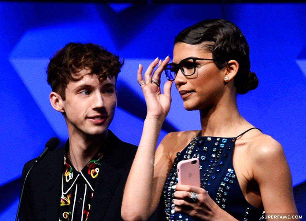 Troye Sivan and Zendaya.