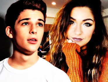 Andrea Russett and Sean O'Donnell.