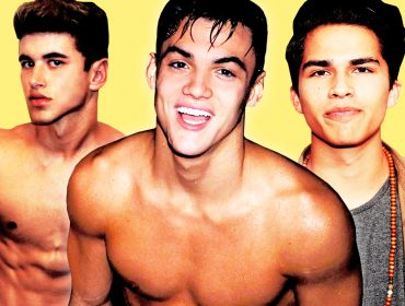 Alex Aiono, Grayson Dolan & Nate Garner shirtless.