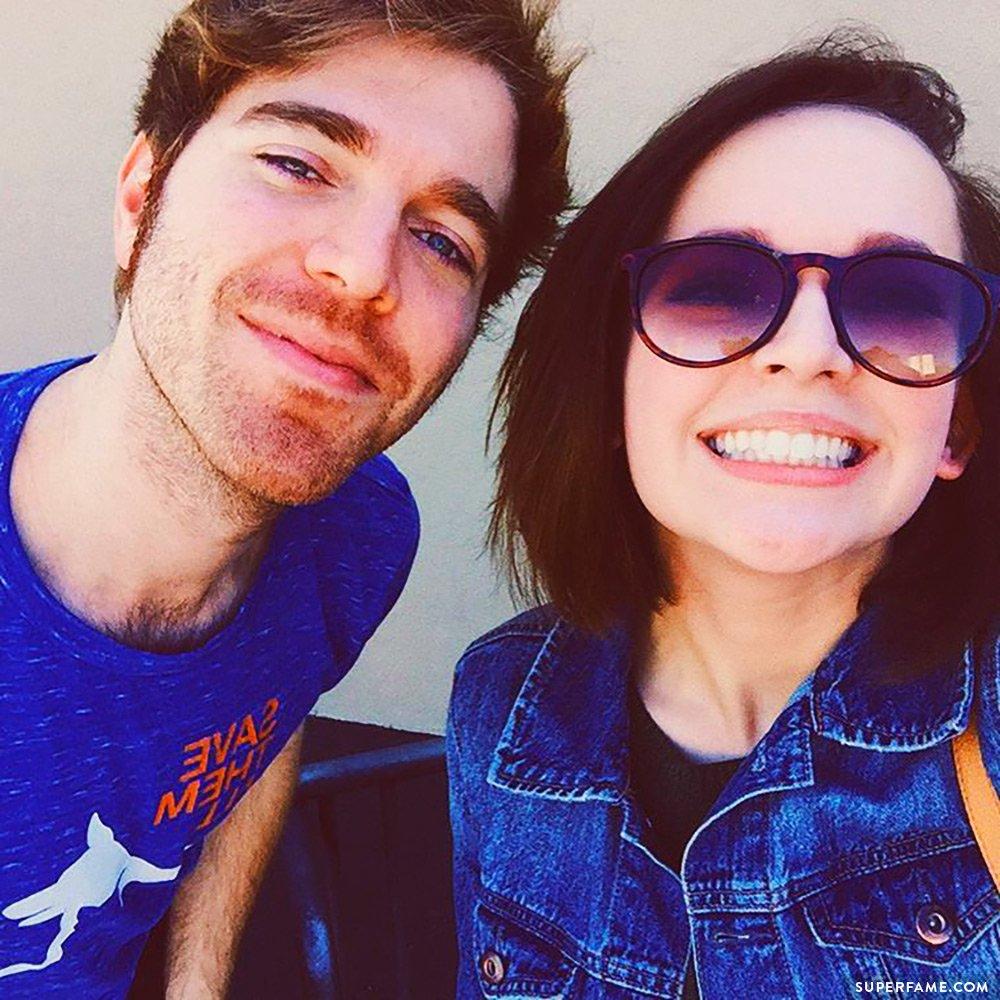 Alexis G. Zall and Shane Dawson.