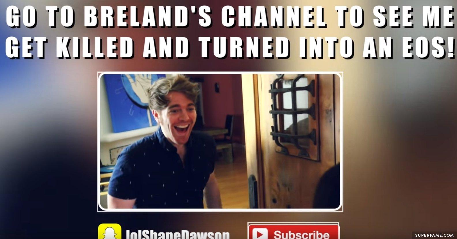 Shane on YouTube.