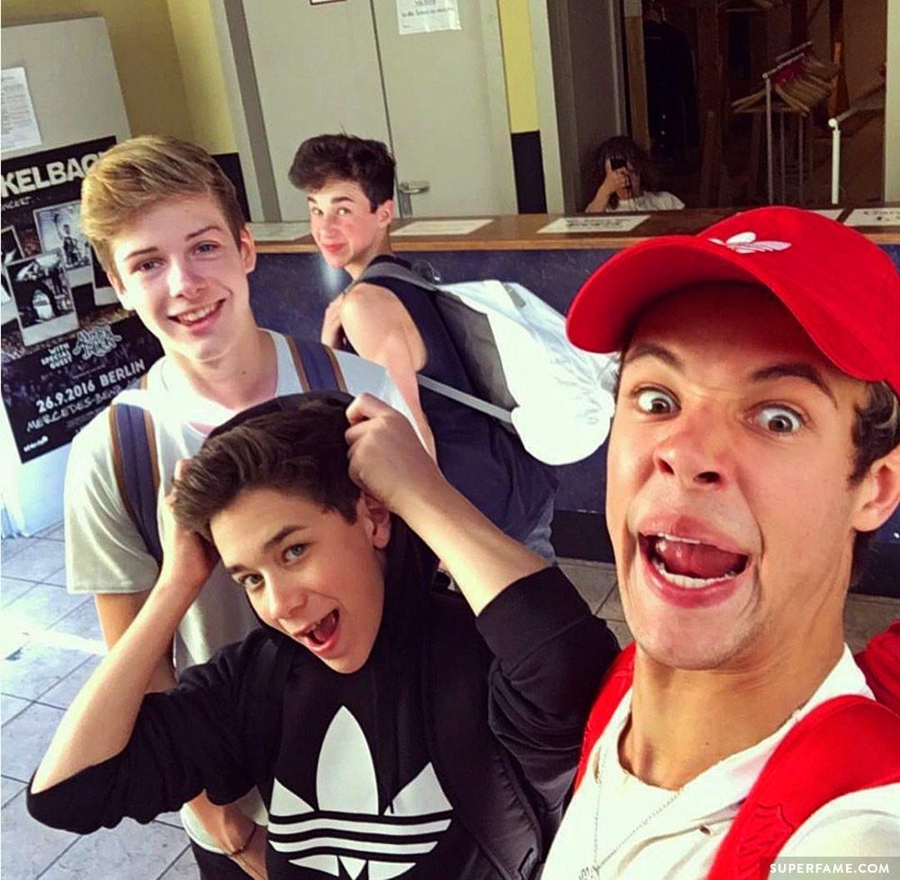 Cameron, Blake, Hunter, Brandon.