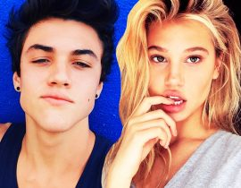 Ethan Dolan and Meredith MIckelson.