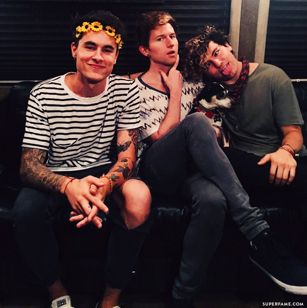 Kian, JC and Ricky.