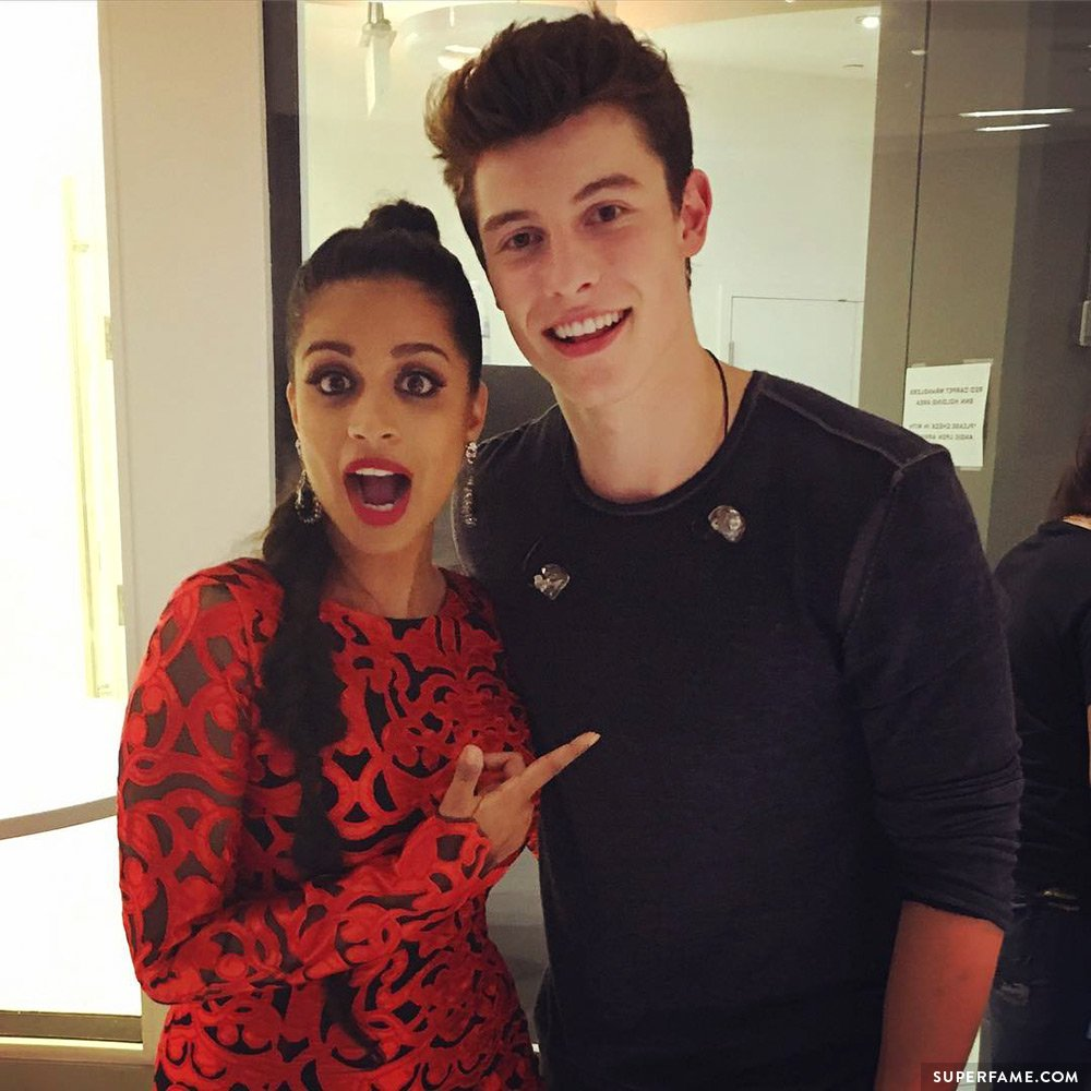 Lilly Singh and Shawn Mendes.