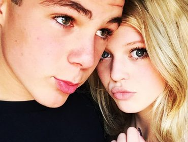 Loren Gray (Beech) and Joey.