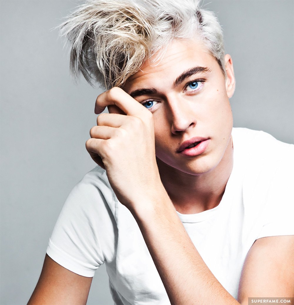 Lucky Blue Smith.