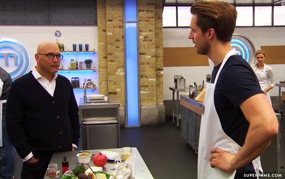 Marcus Butler on Masterchef.