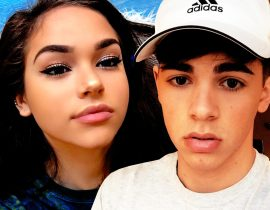 Maggie Lindemann and Mikey Barone.