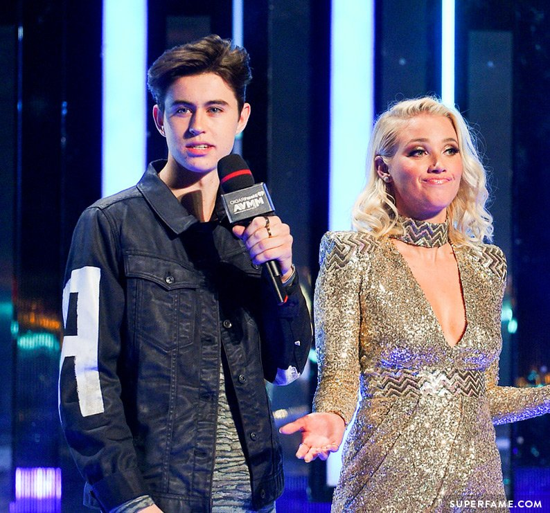 Nash Grier and Liz Trinnear.