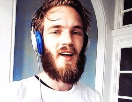Pewdiepie with facial hair.