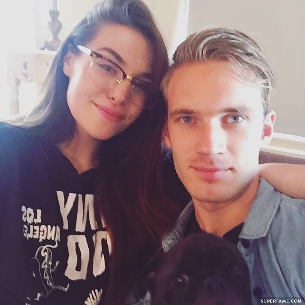 Pewds and Marzia.