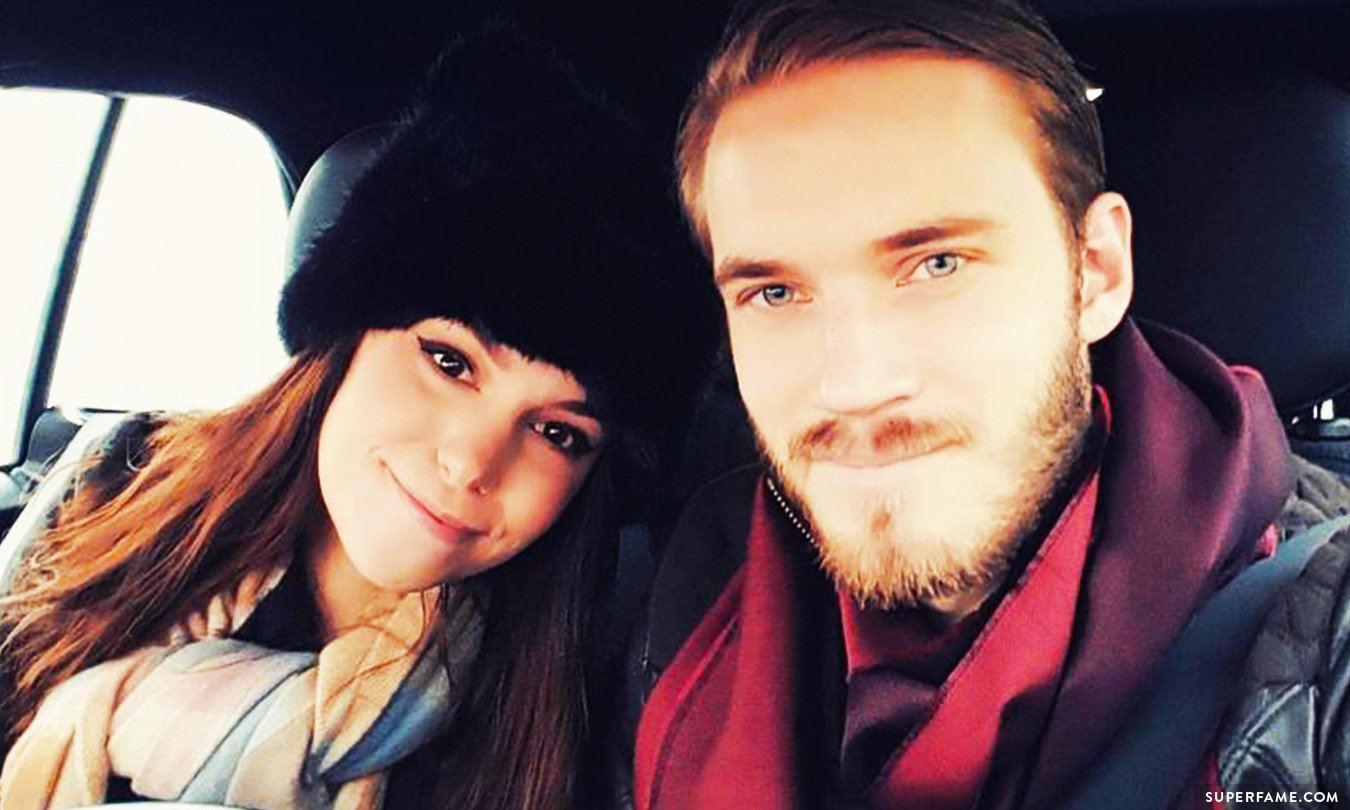 Pewdiepie and Marzia.