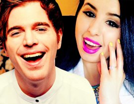 GlitterForever17 and Shane Dawson.