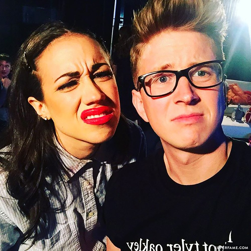 Miranda Sings and Tyler Oakley.