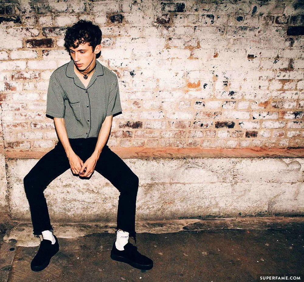 Troye Sivan is a cute model for photoshoots