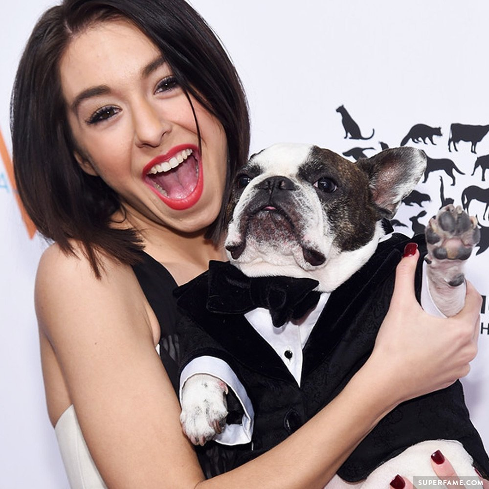 Christina Grimmie dog.