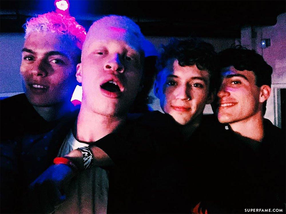 Troye, Jacob and models.