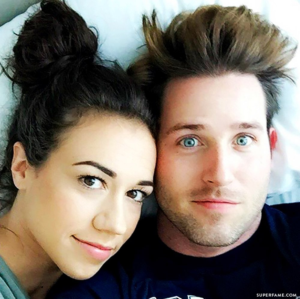 Colleen Ballinger and Joshua David Evans.