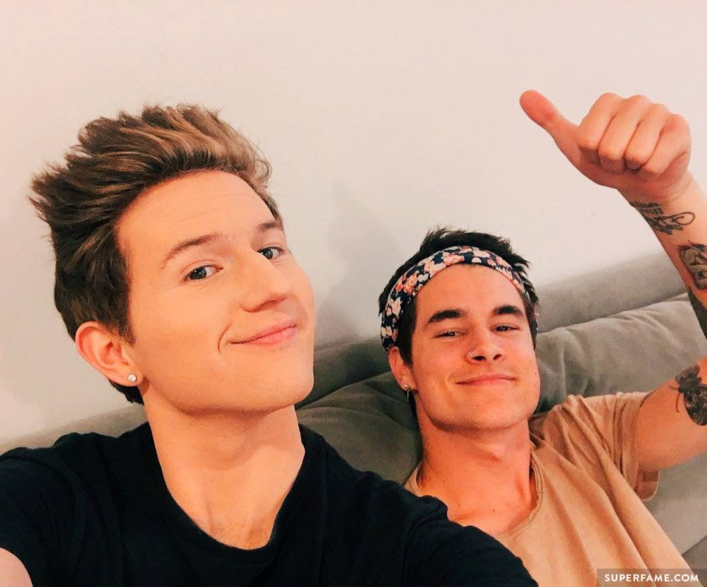 Ricky Dillon and Kian Lawley.