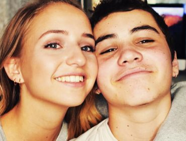 Sam Pottorff and girlfriend Rosa.