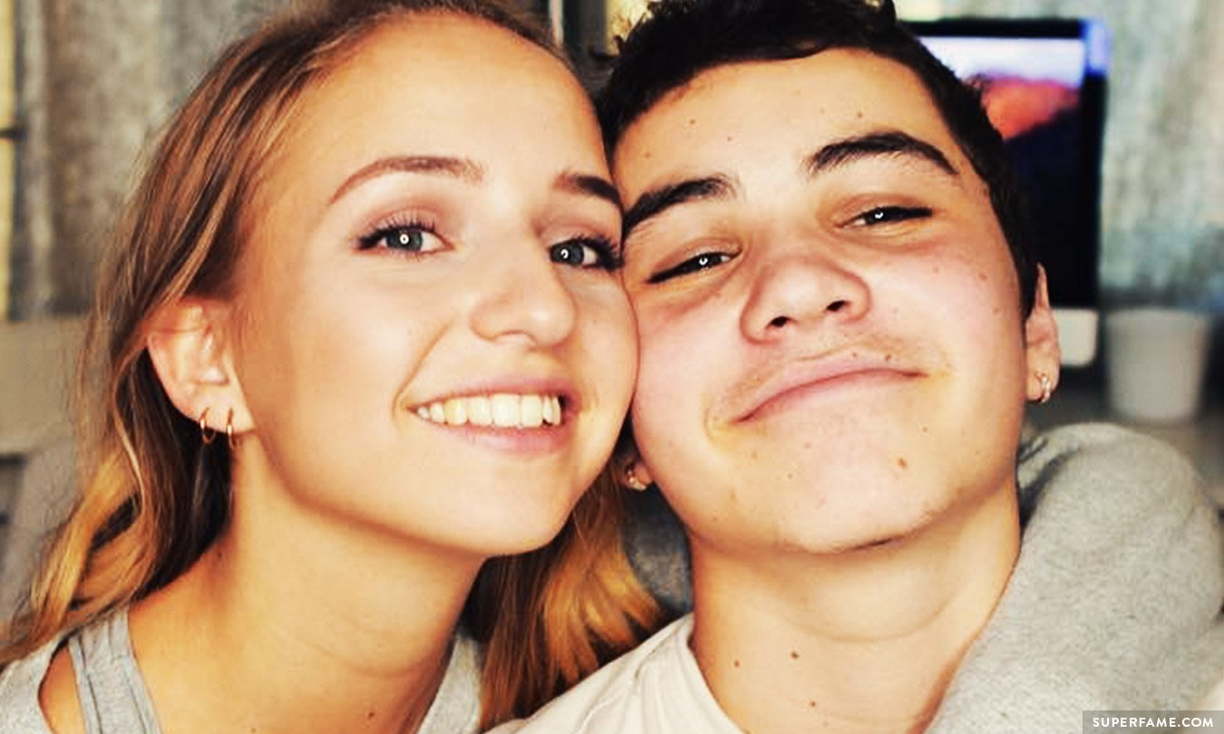 Sam Pottorff and girlfriend Rosa.