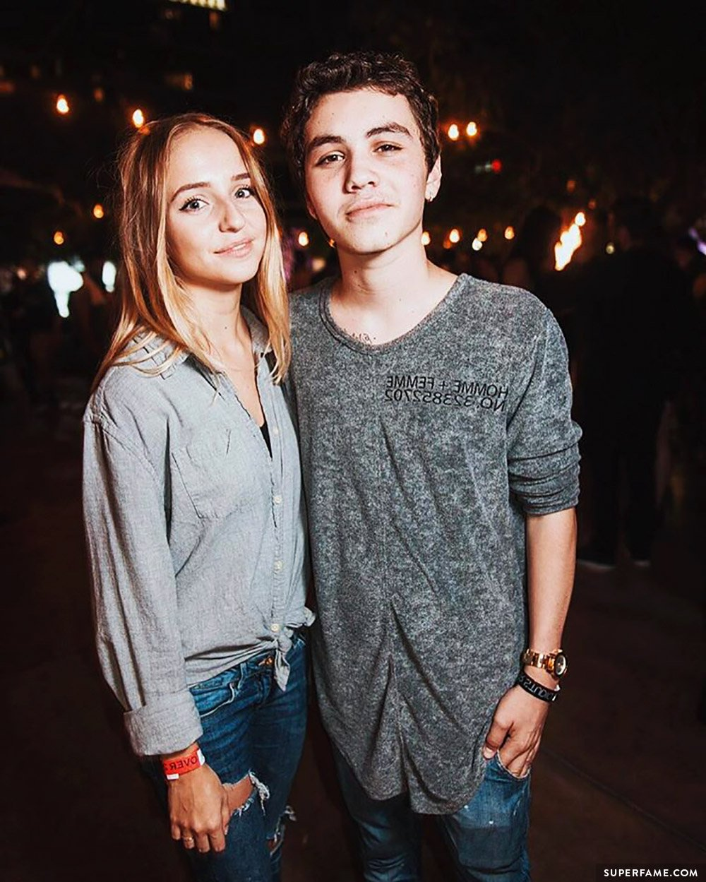Sam and Rosa.