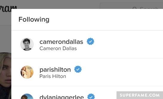Sofia follows Cam.