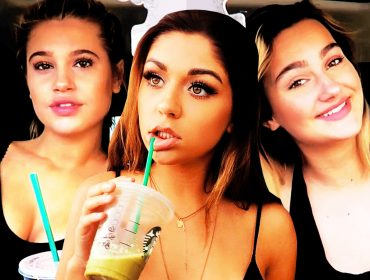 Andrea Russett, Meredith Mickelson & Suede Brooks
