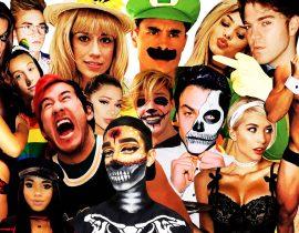YouTube halloween costumes.