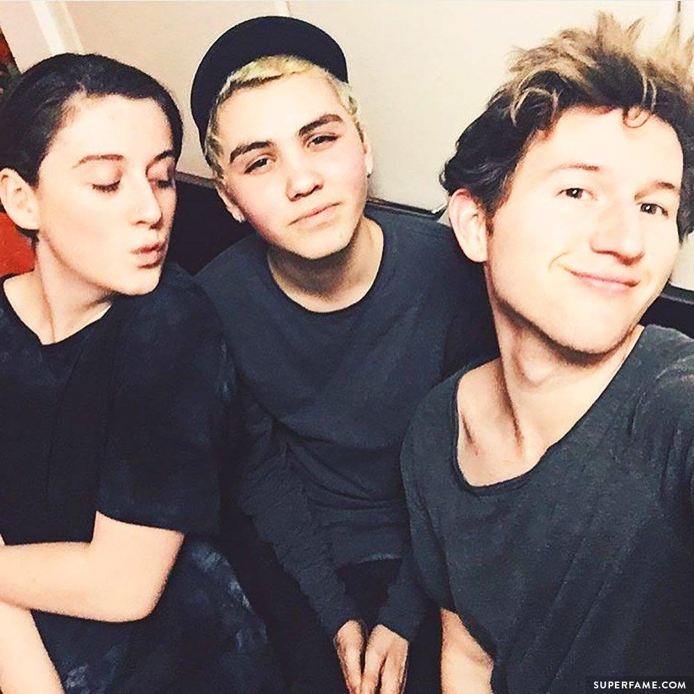 Sam, Ricky and Trevor.