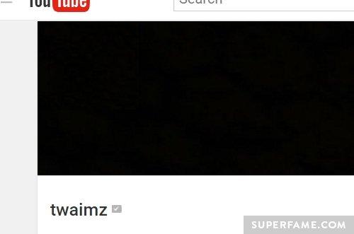 Twaimz' YouTube.