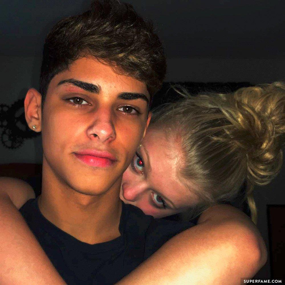 Loren Beech and boyfriend.
