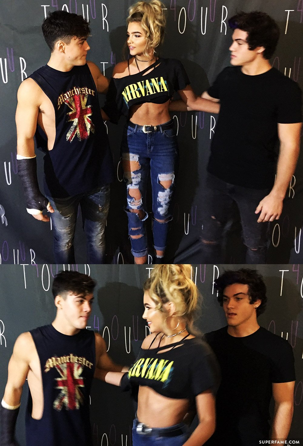 Ethan and Grayson Dolan's meet and greet.