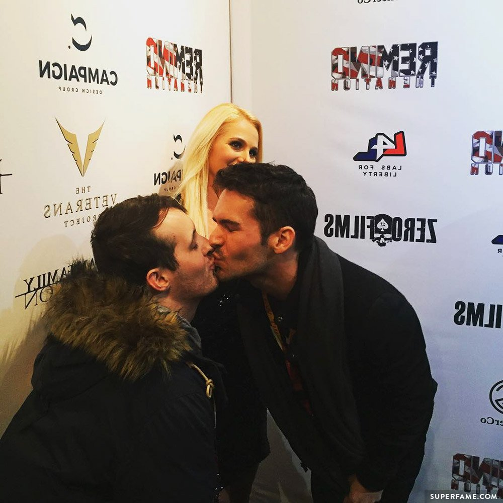 Tomi Lahren's gay kiss drama.