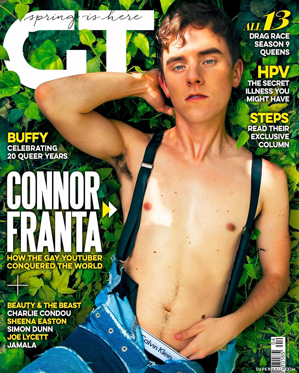 Connor Franta on Gay Times.