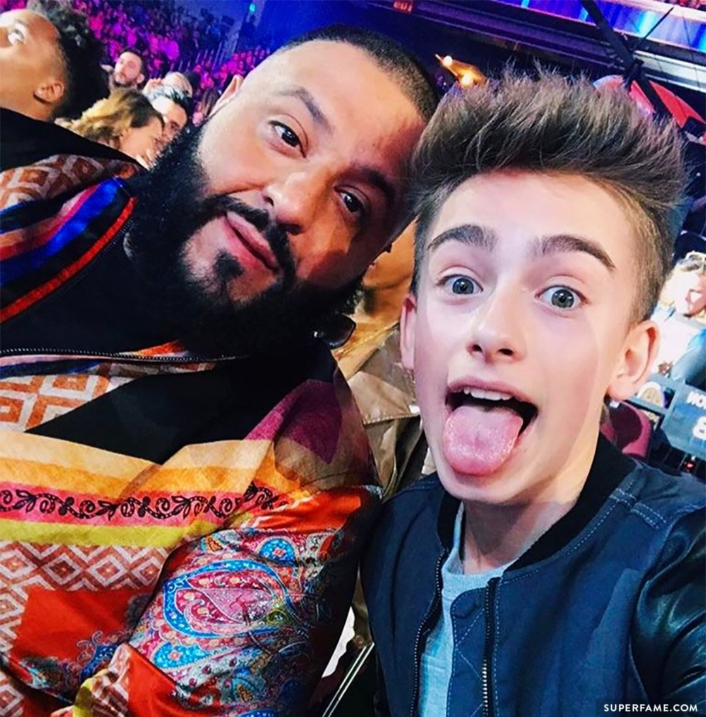 Johnny Orlando & DJ Khaled.