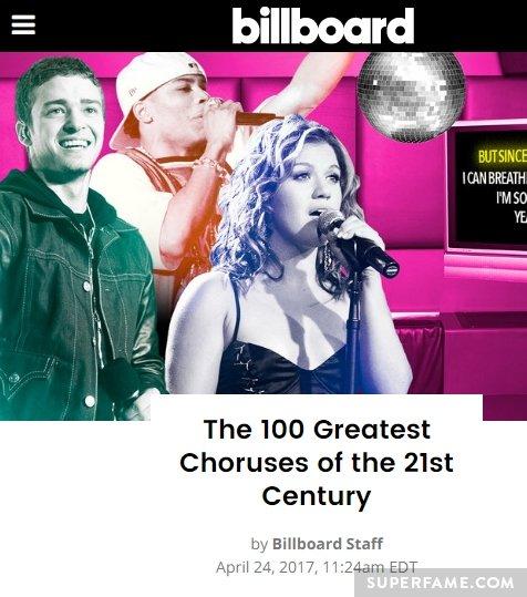 A Billboard article.