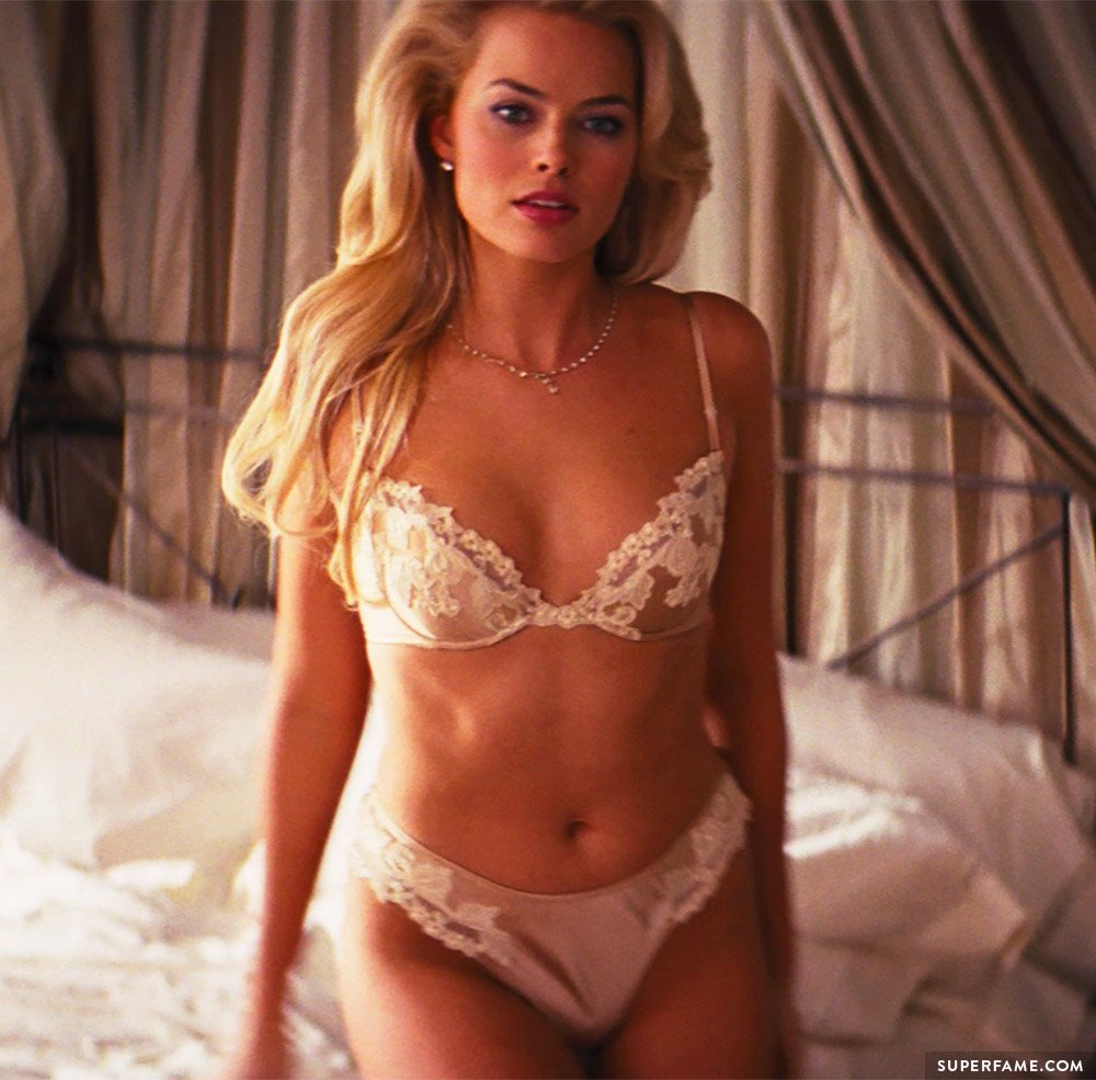 Margot in Wolf of Wall Street.